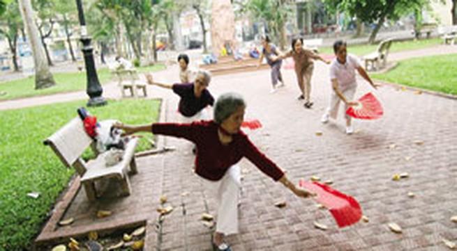 """Già hóa dân số ở Việt Nam: Tốc độ """"phi mã"""""""