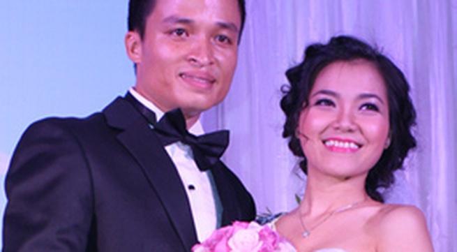 Đám cưới giản dị của Thanh Ngọc