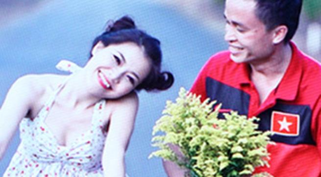 Thanh Ngọc 'cưa sừng' chụp ảnh cưới