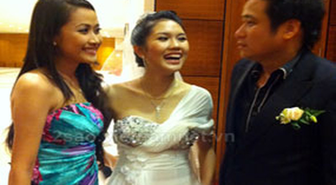 Xem trọn bộ ảnh đám cưới diễn viên Minh Tiệp