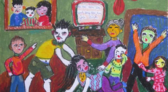 Giải C - Cuộc thi Vẽ tranh Nói Không với Bạo lực gia đình