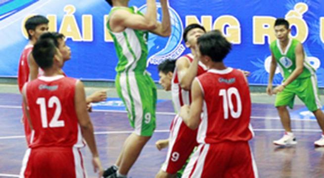 Khởi tranh VCK Giải bóng rổ U17 Quốc gia