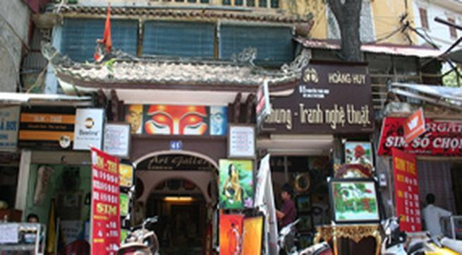 Biệt thự danh họa ở phố Nguyễn Thái Học