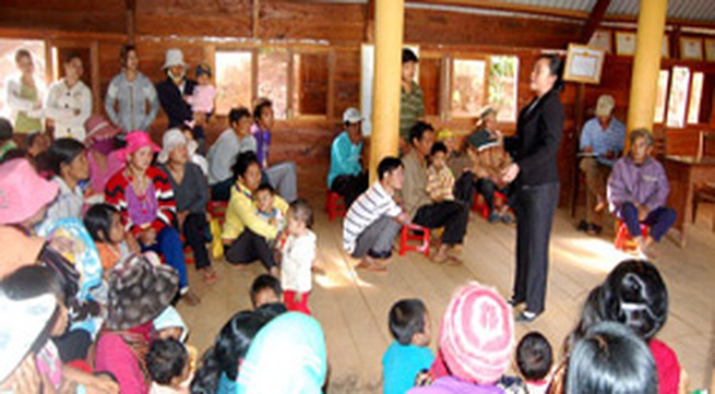 Cần đẩy mạnh công tác dân số vào hương ước, quy ước thôn xóm