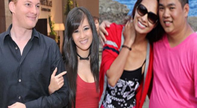 Những cặp vợ chồng hạnh phúc nhất showbiz Việt