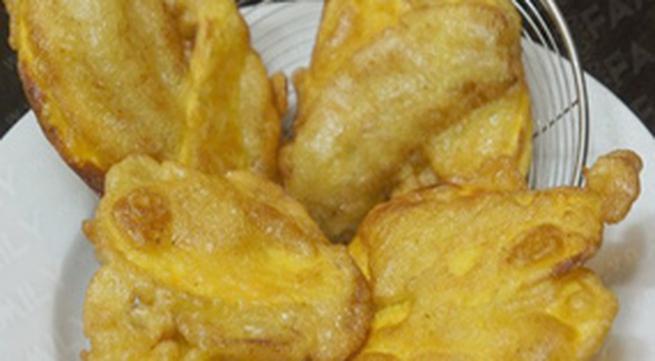 Cách làm bánh khoai, bánh chuối ở nhà