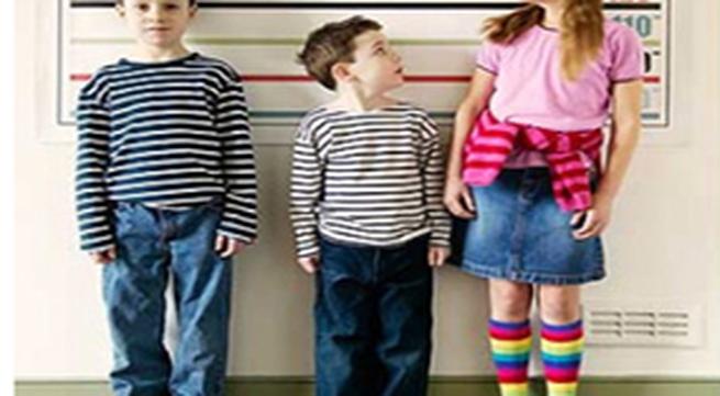 Cách tính chiều cao của trẻ