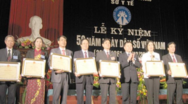 Hải Dương kỷ niệm 50 năm ngày truyền thống ngành DS-KHHGĐ: Vững bước đi lên