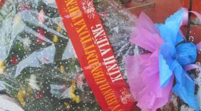 """Chính quyền xin lỗi vụ viếng liệt sỹ bằng """"hoa sinh nhật"""""""