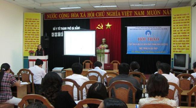 Hội thảo tiếp thị xã hội các biện pháp tránh thai lâm sàng