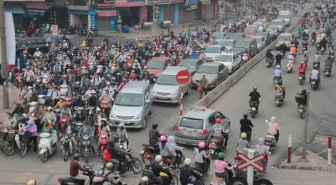 Hà Nội thu phí đường bộ xe máy cao nhất 100 nghìn đồng