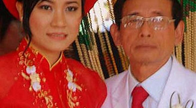 Bí mật đám cưới lão đại gia với thiếu nữ tuổi 20