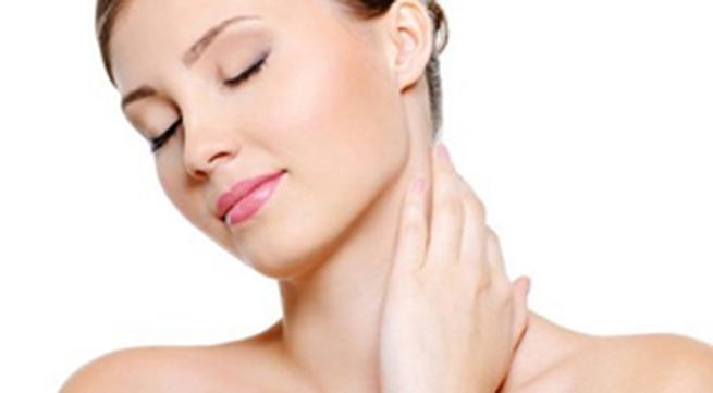 Chăm sóc vùng da cổ hiệu quả