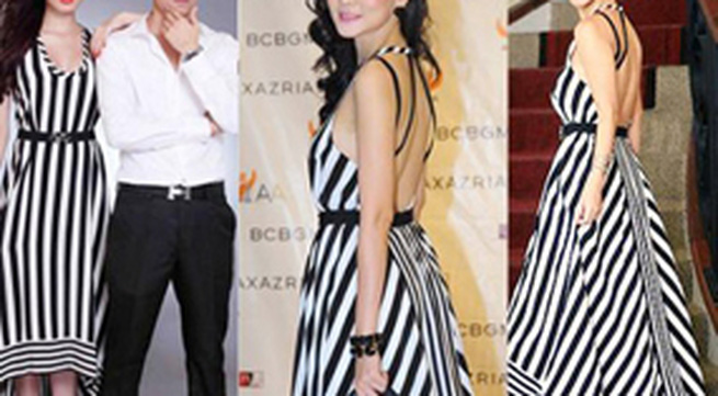 Những chiếc váy maxi dịu dàng của showbiz Việt