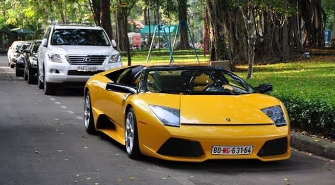 Choáng dàn xe 4 triệu đô của đại gia Tuyên Quang