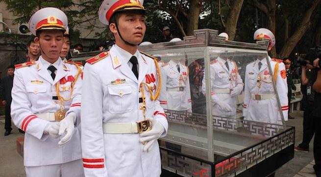 Cận cảnh công tác duyệt nghi thức Lễ tang Đại tướng