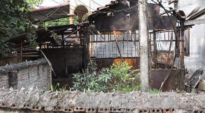 Hình ảnh thiệt hại vụ nổ kho thuốc pháo ở Phú Thọ