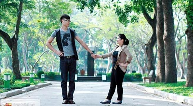 Chuyện tình đặc biệt của chàng 1m88 và nàng 1m52 tại Hà Nội