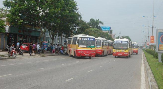 Hải Dương: Xe buýt bỏ tuyến nhưng Sở GTVT không xử lý?