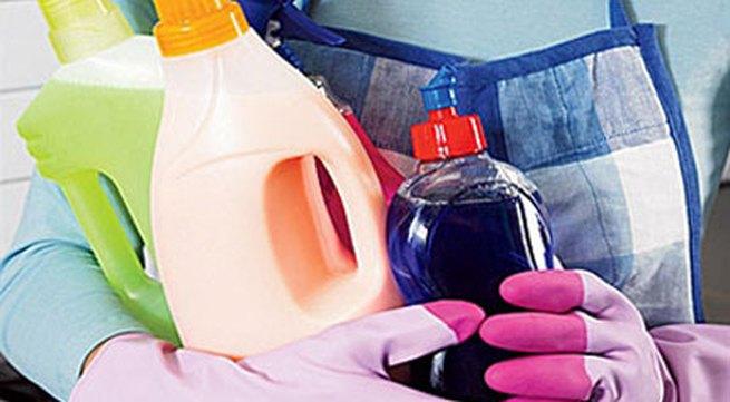 Nước tẩy rửa gây nguy hại cho phụ nữ, trẻ em