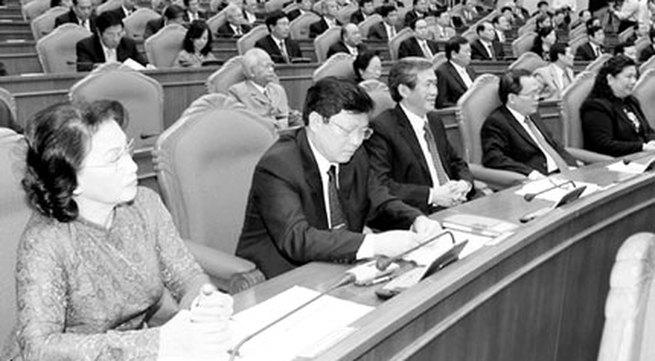 Khai mạc Hội nghị lần thứ 7 BCH Trung ương Đảng