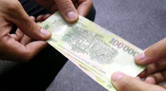 Nhận tiền người yêu cho có phạm tội?