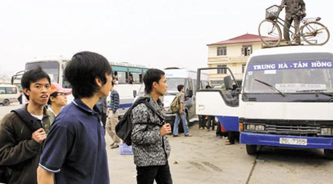 Vận tải hành khách Tết 2014: Mua vé xe cũng cần chứng minh nhân dân
