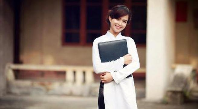 Ngỡ ngàng vẻ đẹp top 20 của Nữ sinh Việt Nam