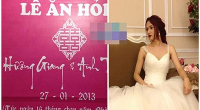 Thí sinh chuyển giới Hương Giang Idol sắp cưới?