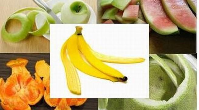 Vỏ trái cây có tác dụng chữa bệnh kỳ diệu
