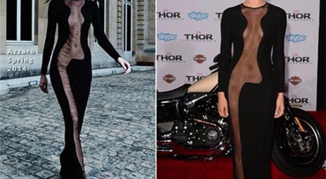 Những chiếc váy khiến fan nín thở vì độ táo bạo