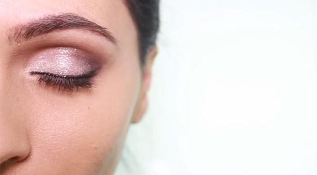 3 cách đánh mắt với ánh nhũ