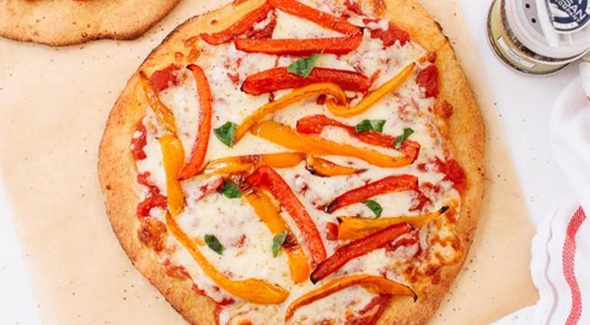 Tự làm pizza kiểu mới ngon mà bổ