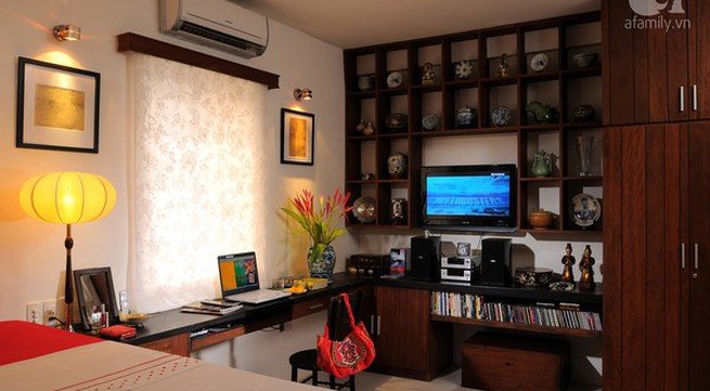 Ngắm căn hộ 22m² sử dụng đồ gỗ tái chế cực chất tại Phú Nhuận