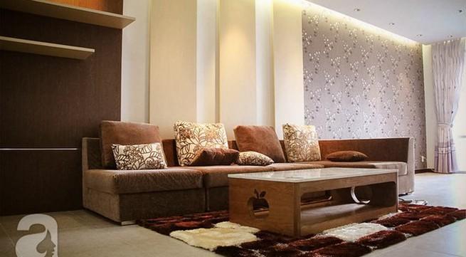 Ngắm căn hộ sang trọng với nội thất tông trầm ở TP Hồ Chí Minh