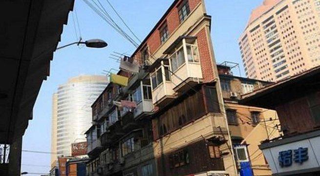 Ngắm ngôi nhà... không thể mỏng hơn ở Trung Quốc