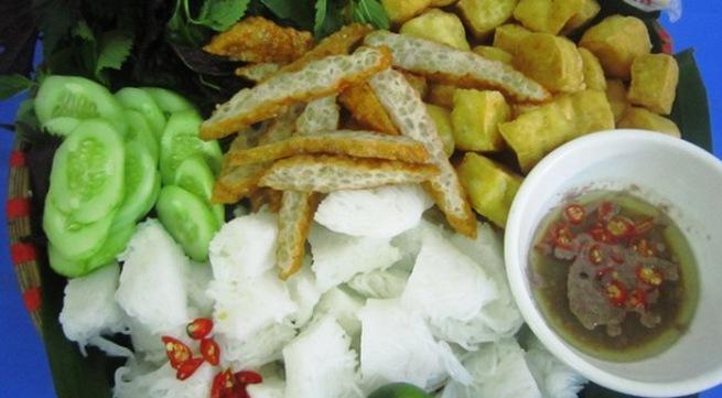 Đi ăn bún đậu ngon, rẻ phố Hàng Khay