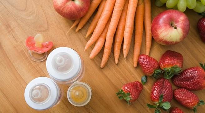 Những vitamin giúp bé tăng cường hệ miễn dịch