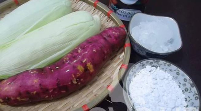 Thanh mát chè ngô khoai lang