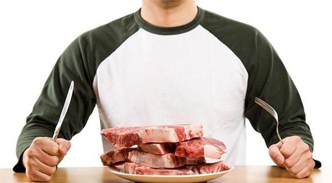 Những bệnh tiềm ẩn do ăn nhiều thịt