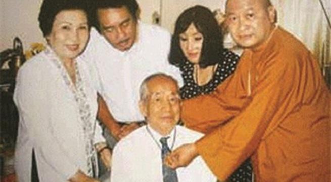 Thẩm Thuý Hằng trở thành phật tử tu tại gia
