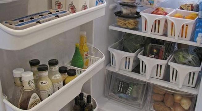 Mẹo vặt giữ tủ lạnh sạch sẽ, gọn gàng
