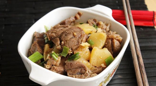9 cách làm món bắp bò ngon như ăn tiệc (2)