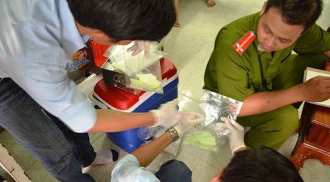 Rùng rợn công nghệ tái chế bún bằng hóa chất