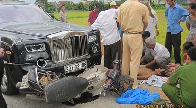 Siêu xe Rolls – Royce 40 tỷ đâm chết 2 người