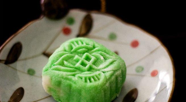 Tự làm bánh dẻo lạnh hai màu đón Trung thu