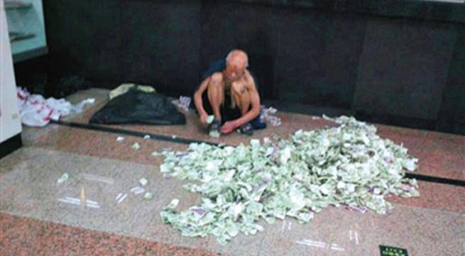 Cụ ông ăn xin mỗi tháng gửi về quê 34 triệu đồng