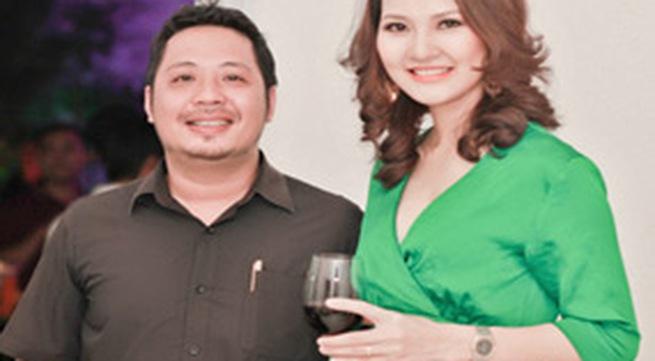 Chồng HH Trần Thị Quỳnh lần đầu đi tiệc với vợ