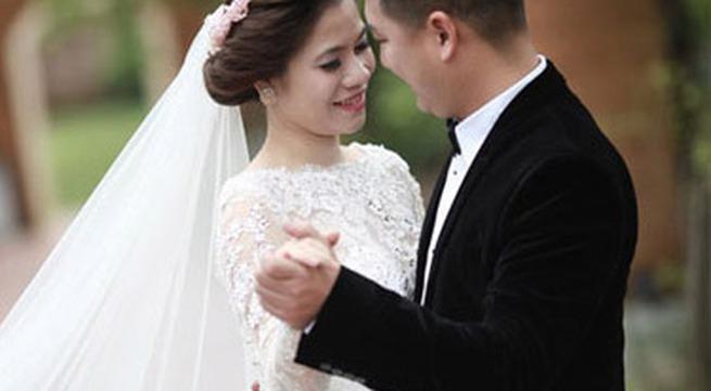 Mỹ Dung khoe ảnh cưới đẹp lung linh