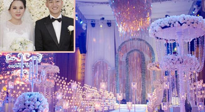 Ngọc Thạch tổ chức tiệc cưới ấn tượng tại Hà Nội